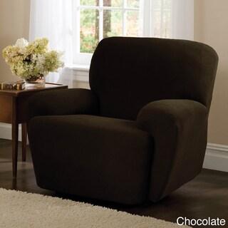 "Maytex Stretch Pixel 4 Piece Recliner Furniture Slipcover - 30-40"" wide/37"" high/38"" deep"