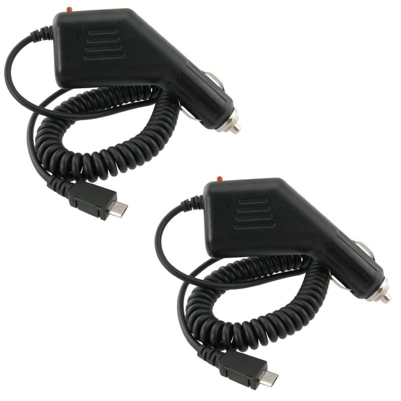 INSTEN Car Charger for Sprint HTC EVO 4G (Pack of 2)