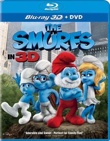 The Smurfs 3D (Combo) (Blu-ray/DVD)