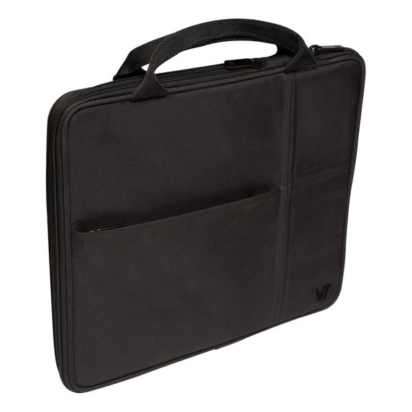"V7 TD20BLK Carrying Case (Attaché) for 10.1"" iPad, Tablet PC -"