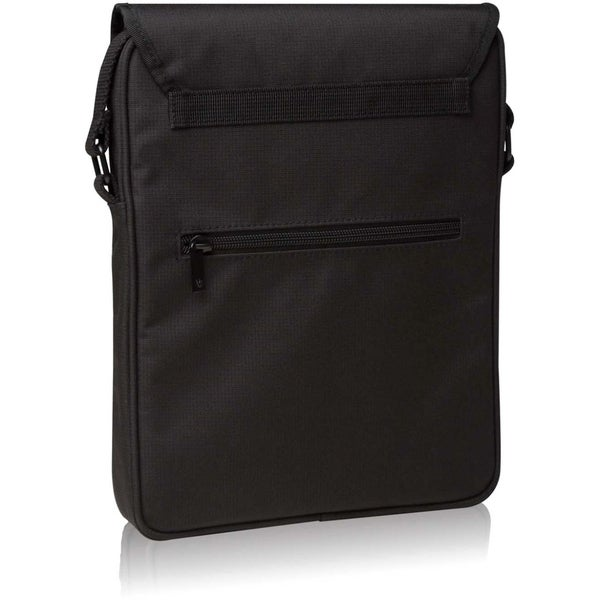 """V7 TD21BLK Carrying Case (Messenger) for 10.1"""" iPad, Tablet PC - Blac"""