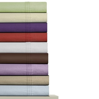 Luxury Extra Deep Pocket Solid Flannel Sheet Set
