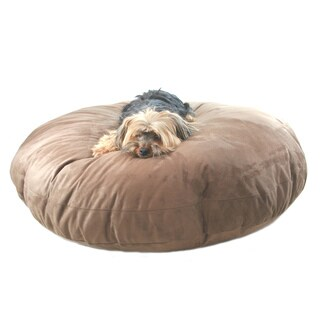 """Hidden Valley Supersoft Microsuede Round X-Large 52"""" Dog Bed"""