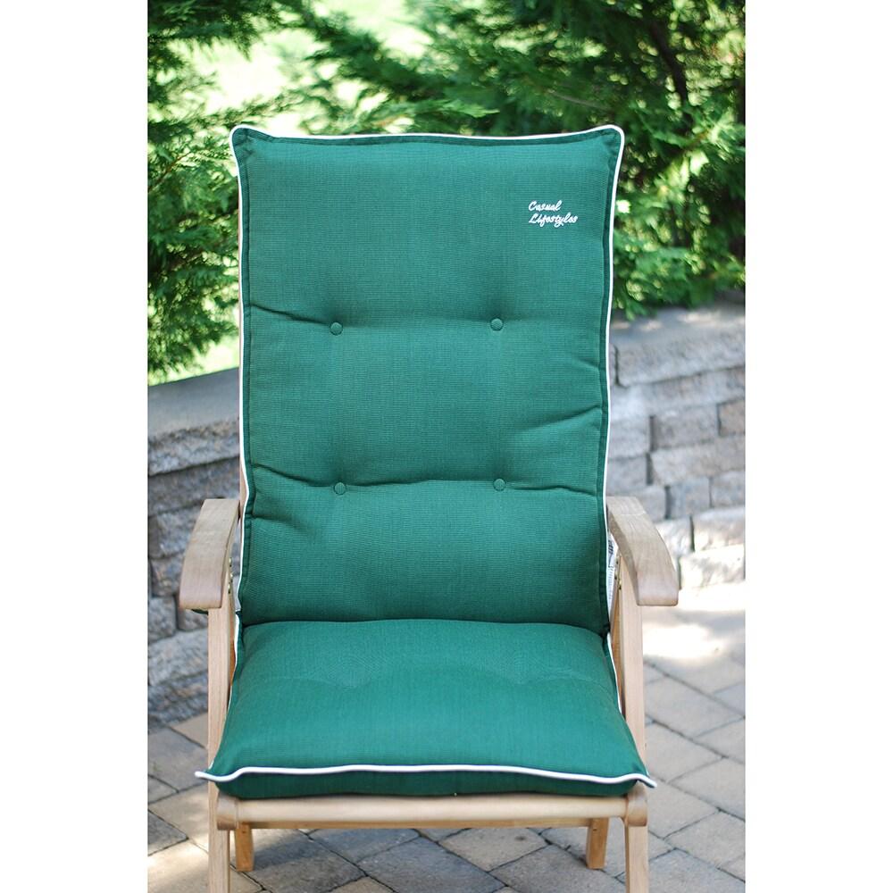 High Back Patio Chair Cushion Set