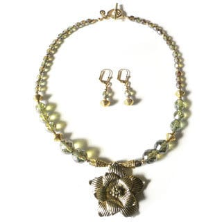 'Serafina' Necklace and Earring Set
