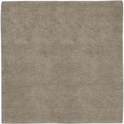 Hand-woven Milwaukee Wool Rug ( 8' Square)