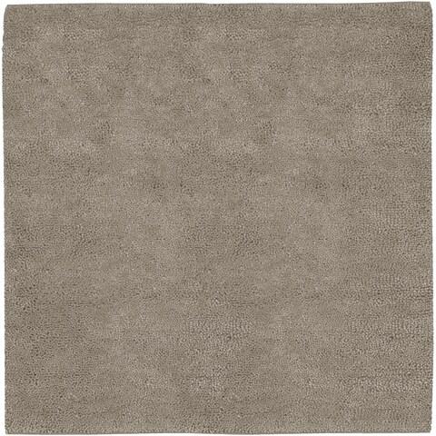 Hand-woven Milwaukee Wool Area Rug - 8' x 8'