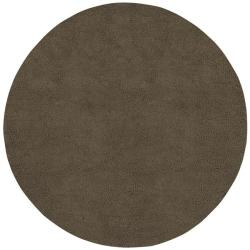 Hand-woven Fresno Wool Rug (10' Round)