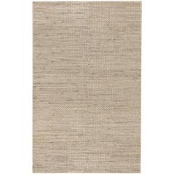 Hand-woven Allentown Natural Fiber Jute Braided Texture Area Rug (8' x 11') - 8' x 11' - Thumbnail 0