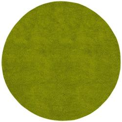 Hand-woven Chicago Wool Area Rug (8' Round)