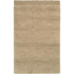 Hand-woven Alex andria Wool Area Rug - 8' x 10'6 - Thumbnail 0