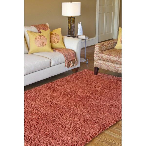 Hand-woven Calgary Wool Area Rug (9' x 13')