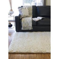 Hand-woven Sunnyvale Wool Plush Shag Rug (8'x10'6) - Thumbnail 1