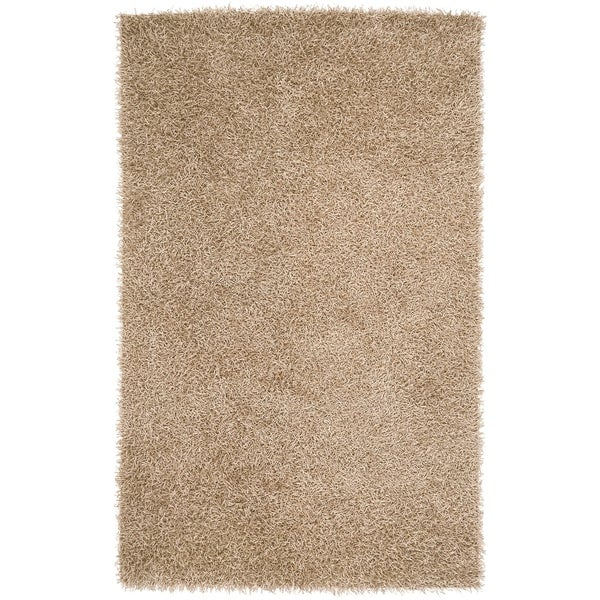 Hand-woven Surprise Soft Shag Area Rug - 9' x 13'