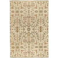 Hand-knotted Olathe Wool Area Rug - 6' x 9'