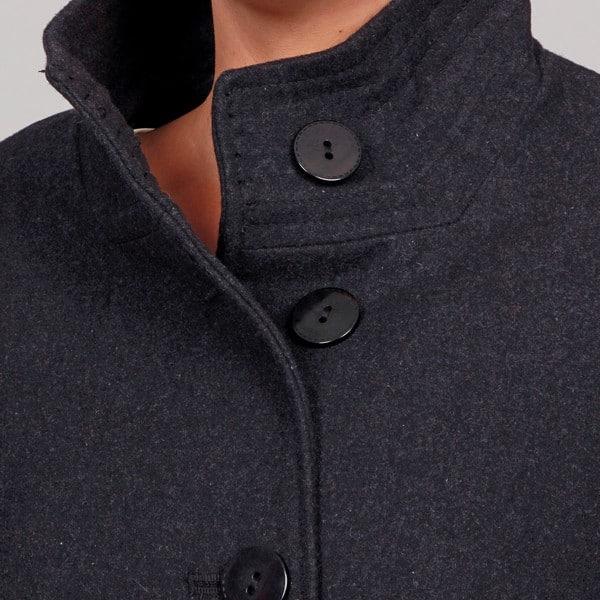 Shop Jones New York Women\'s Plus Size Wool Blend Coat FINAL ...
