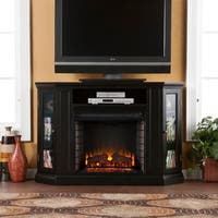 Gracewood Hollow Bravebird Media Console Fireplace