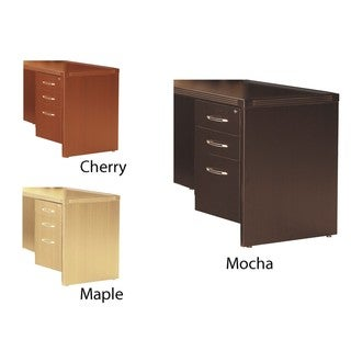 Mayline Aberdeen 20-inch Suspended Pedestal File for Credenza Shell-No finished top