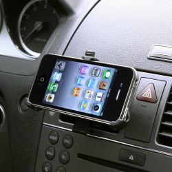 INSTEN Car Air Vent Mounted Holder Cradle for Apple iPhone 4 - Thumbnail 2