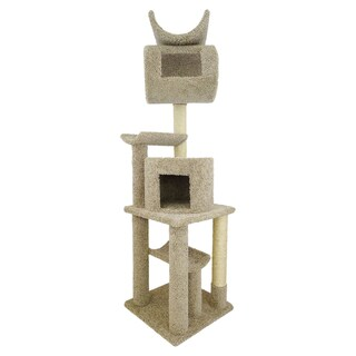 "New Cat Condos 72-inch Play Station Cat Tree - 72""h x 20""w x 20""d/72""h"