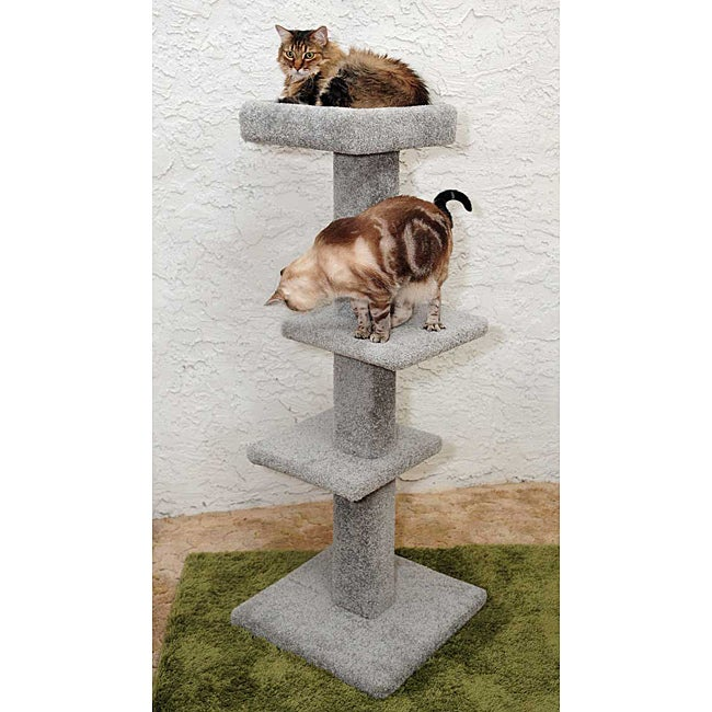 New Cat Condos 3 Tier Cat Scratching Perch