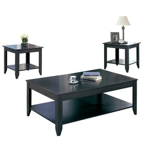 Cappuccino 3-piece Occasional Table Set