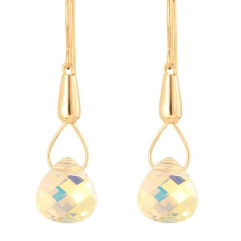 Teardrops of Theia Crystal Earrings