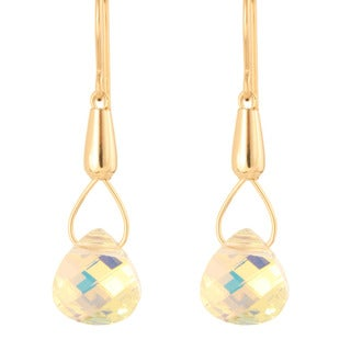 Teardrops of Theia Crystal Earrings