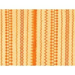 Hand-woven Jalal Tuareg Kilim Cream Rug (5'6 x 7'10)
