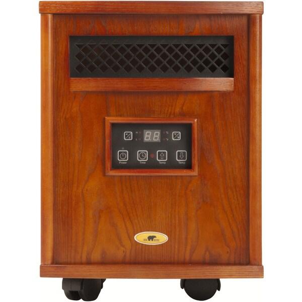 Bear Heaters 1500-Watt Infrared Heater w/ Remote