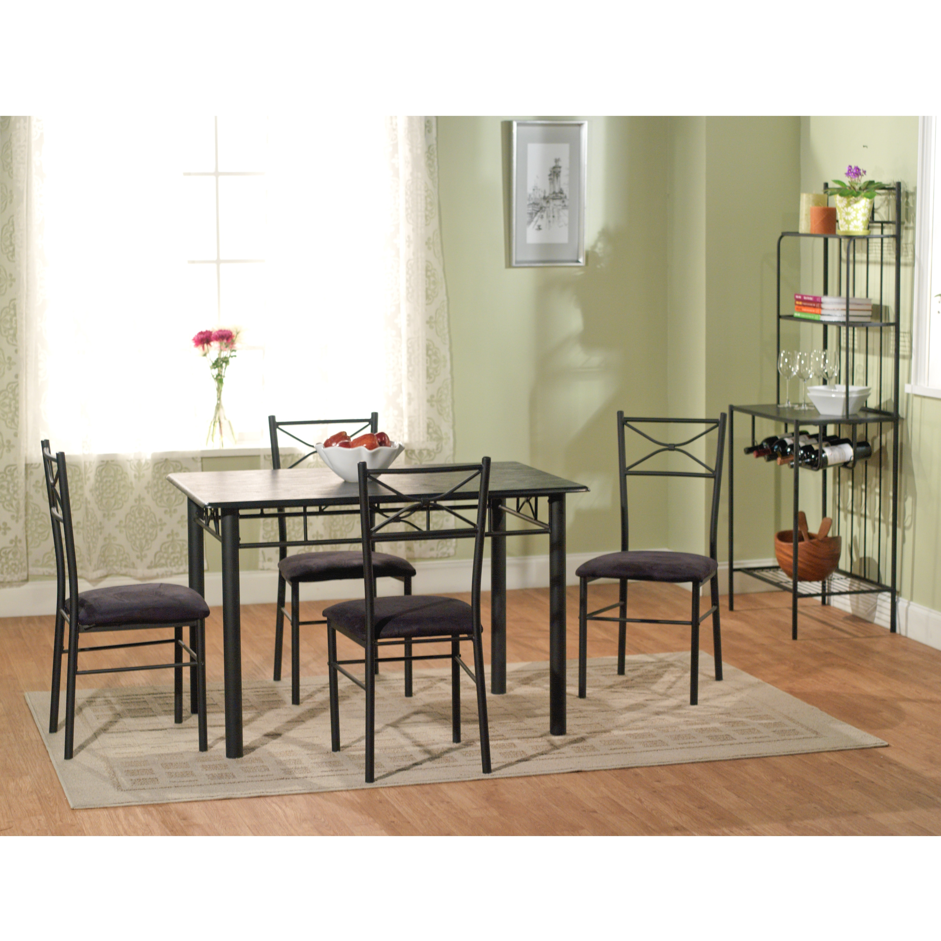 66 Inch Extending Dining Table And Dining Set Fluted Legs. Full resolution‎  photograph, nominally Width 3024 Height 3024 pixels, photograph with #8F5E3C.
