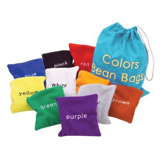Educational Insights Colors Beanbags