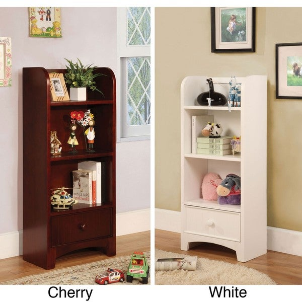 Furniture of America Ebytown Bedside Cabinet/ Display Bookshelf