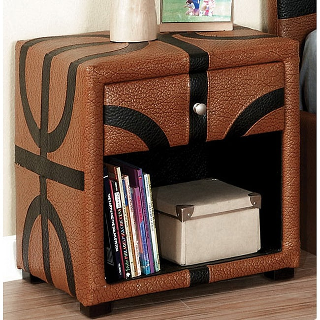 Furniture of America Basketball Themed Designed Nightstand