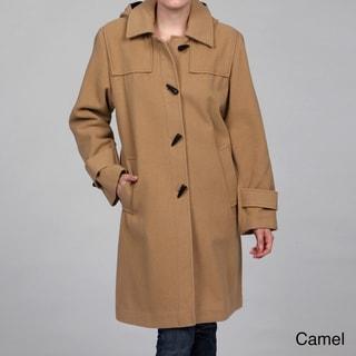 Stephanie Mathews Women's Wool-blend Toggle Coat