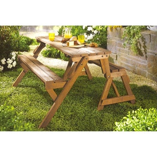 Merry Products Interchangeable Picnic Table/ Garden Bench