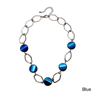 Alexa Starr Glass Chip Link Necklace