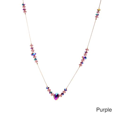 Alexa Starr Glass Bead Illusion Necklace