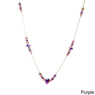 Alexa Starr Glass Bead Illusion Necklace