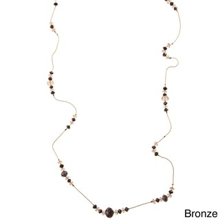Alexa Starr Glass Bead Illusion Necklace (2 options available)
