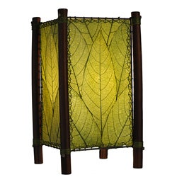 Green Fortune Leaf Green Table Lamp (Philippines)
