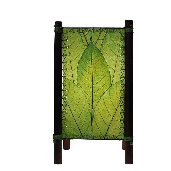 Handmade Fortune Leaf Lamp