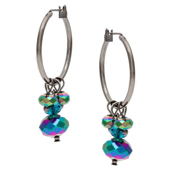 311f79803 Shop Linear Sea Life Wheel Charm Drop Earrings - On Sale - Free ...