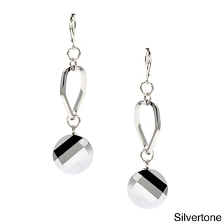 Alexa Starr Faceted Crystal Chip Earrings