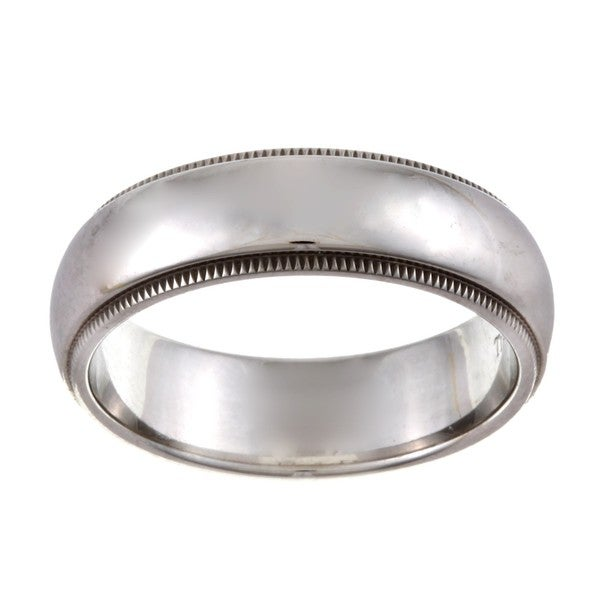Tiffany Platinum 6-mm Estate Wedding Band