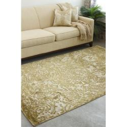 Hand-knotted Annapolis Abstract Design Wool Rug (9' x 13') - Thumbnail 1