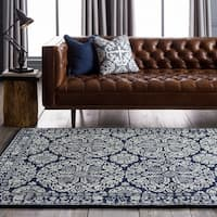 Collection Hand-tufted Topeka Oriental Pattern WoolArea Rug - 8' x 11'