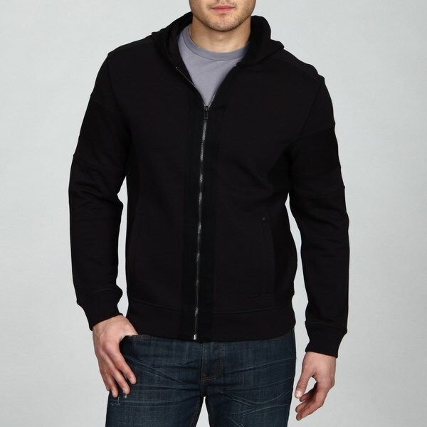 calvin klein men 39 s full zip hoodie free shipping today. Black Bedroom Furniture Sets. Home Design Ideas