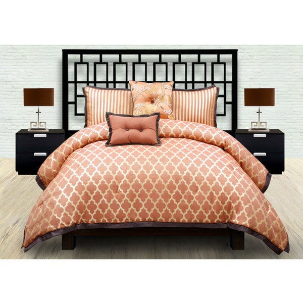 angelo:HOME Gardengate Spice 5-piece Queen-size Duvet Cover Set