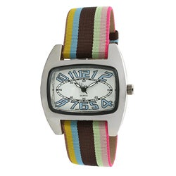 Viva Women's Blue Number Dial Watch